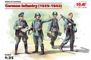 Солдаты Немецкая пехота 1939-1942 гг. (1/35)