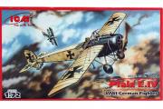 Самолет Pfalz E.IV немецкий истребитель (1/72)