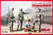 Солдаты Немецкий патруль 1939-1942 гг. (1/35)
