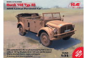 Автомобиль Horch 108 Typ 40 с опущенным тентом (1/35)