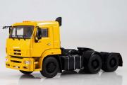 КАМАЗ-6460 седельный тягач 6х4, желтый (1/43)