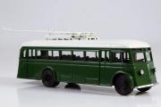 Троллейбус ЯТБ-1, зеленый (1/43)