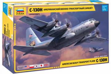 Самолет C-130H американский военно-транспортный (1/72)