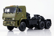 КАМАЗ-65225 седельный тягач 6х6, хаки (1/43)