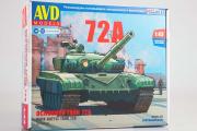 Сборная модель Танк Т-72А (1/43)