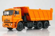 КАМАЗ-6520 самосвал 6х4, оранжевый (1/43)