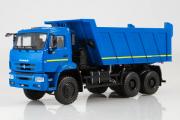 КАМАЗ-6522 самосвал 6х6, синий (1/43)