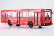 Автобус ЛиАЗ-5256 городской, красный (1/43)