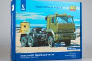 Сборная модель КАМАЗ-65225 седельный тягач 6х6 (1/43)