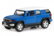 Toyota FJ Cruiser (свет, звук), синий (1/32)