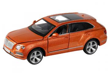 Bentley Bentayga (свет, звук), оранжевый (1/34)