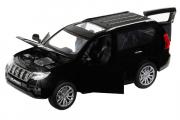 Toyota Land Cruiser Prado (свет, звук), черный (1/32)