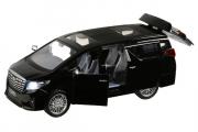 Toyota Alphard (свет, звук), черный (1/29)