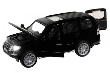 Mitsubishi Pajero 4WD Tubro (свет,звук), черный (1/33)
