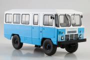 Автобус АПП-66, голубой/белый (1/43)