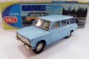 ВАЗ-2102, голубой (сделано в СССР) (1/43)