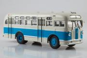 Автобус ЗИС-155, белый/голубой (1/43)