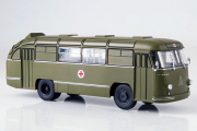 Автобус ЛАЗ-695Б санитарный, хаки. Спецвыпуск (1/43)