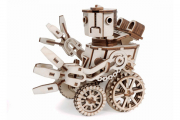 Конструктор 'Робот MAX' 160х150х135 (134 дет). Дерево. Клей ПВА. Наждачка