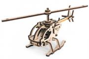 Конструктор 'Вертолет Робинзон' 160x150x70 (29 дет) Дерево. Клей ПВА. Наждачка