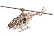 Конструктор 'Вертолет Эдисон' 310х60х100 (93 дет.) Дерево. Клей ПВА. Наждачка
